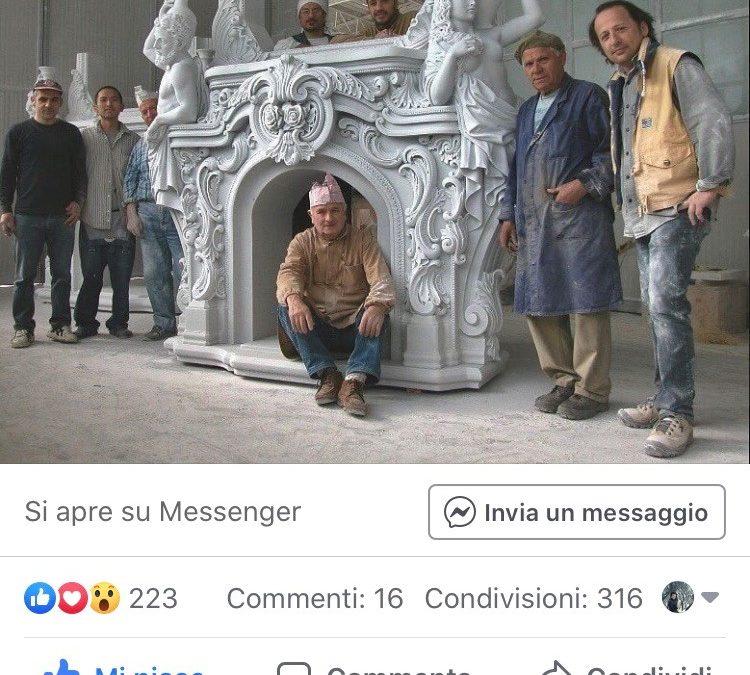 CAMINO DI MARMO AL TEMPO DEI SOCIALS